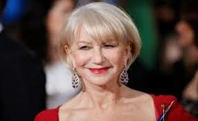"""כוכבת הקולנוע זוכת האוסקר  הלן מירן, """"הפנים, של  לוריאל בגיל 69"""
