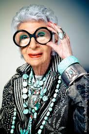 אייריס אפפל, אושיית אופנה אמריקאית בת  92