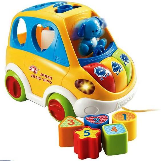 מכונית סידור צורות המשווקת על ידי חברת פופיק