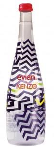 בקבוק אמנותי של מי אוויאן בעיצוב קנזו