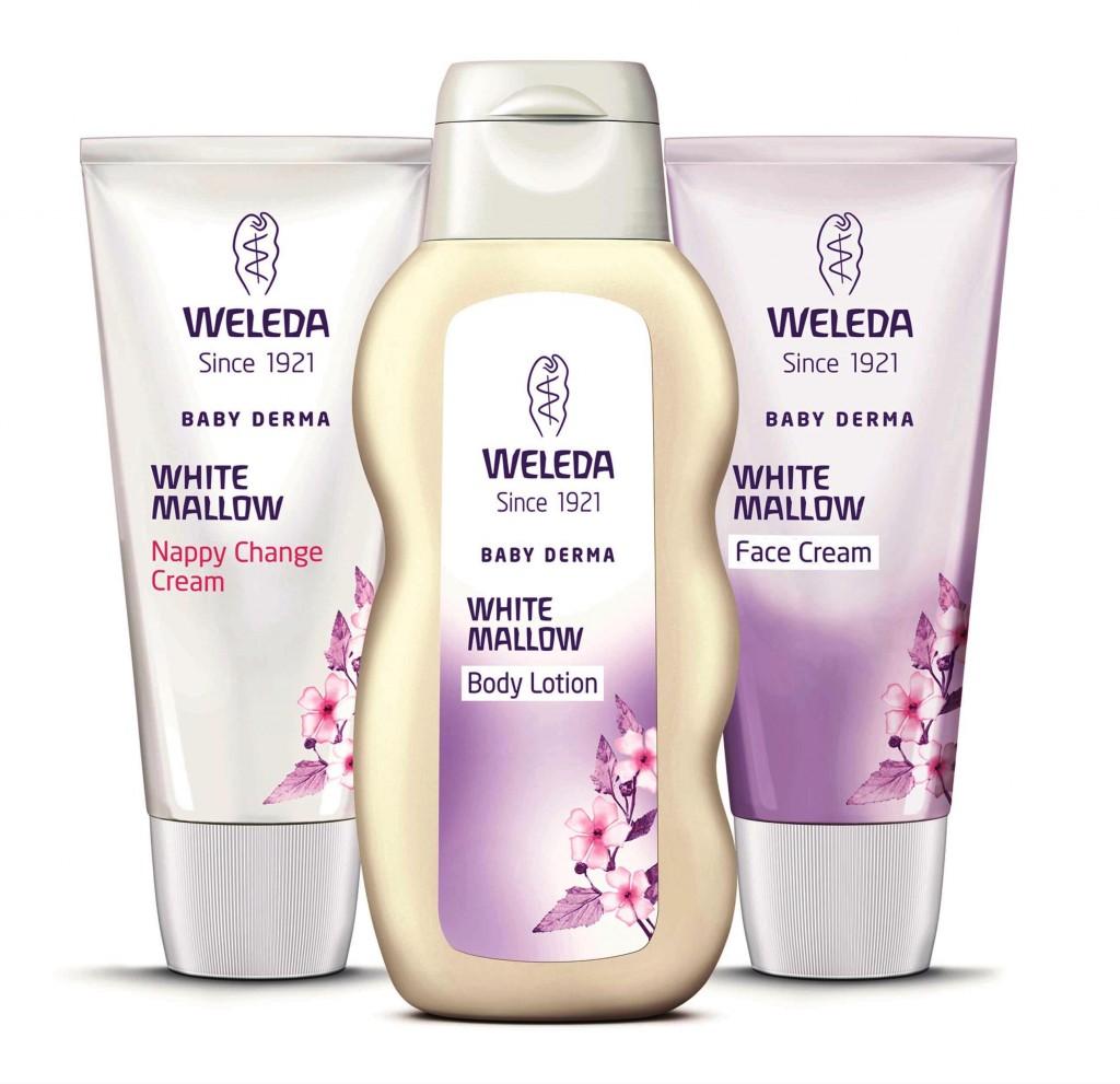 מוצרי הטיפוח החדשים לתינוק של WELEDA
