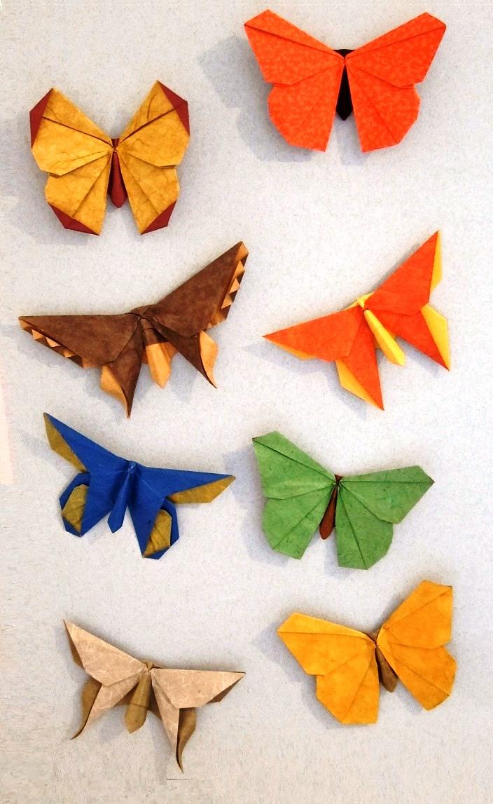 נמר של נייר אוריגמי.מוזיאון יפו. הרמן מריאנו