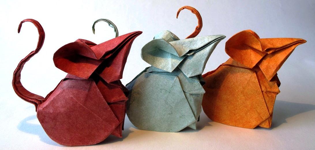 תערוכת אוריגמי. גלריה מאירוב חולון. הרמן מריאנו