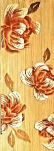 פרחים על אריחים של חברת אלוני