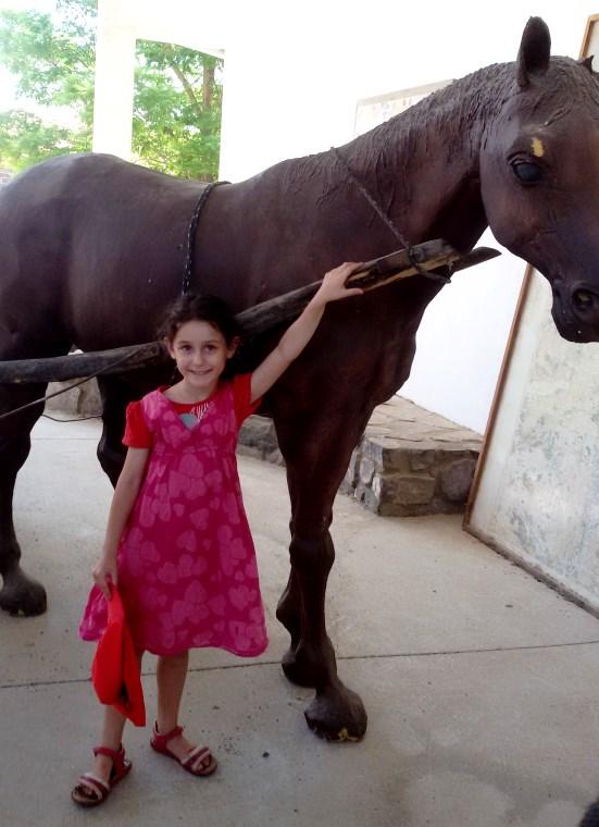 אנדרטת סוס ועגלה