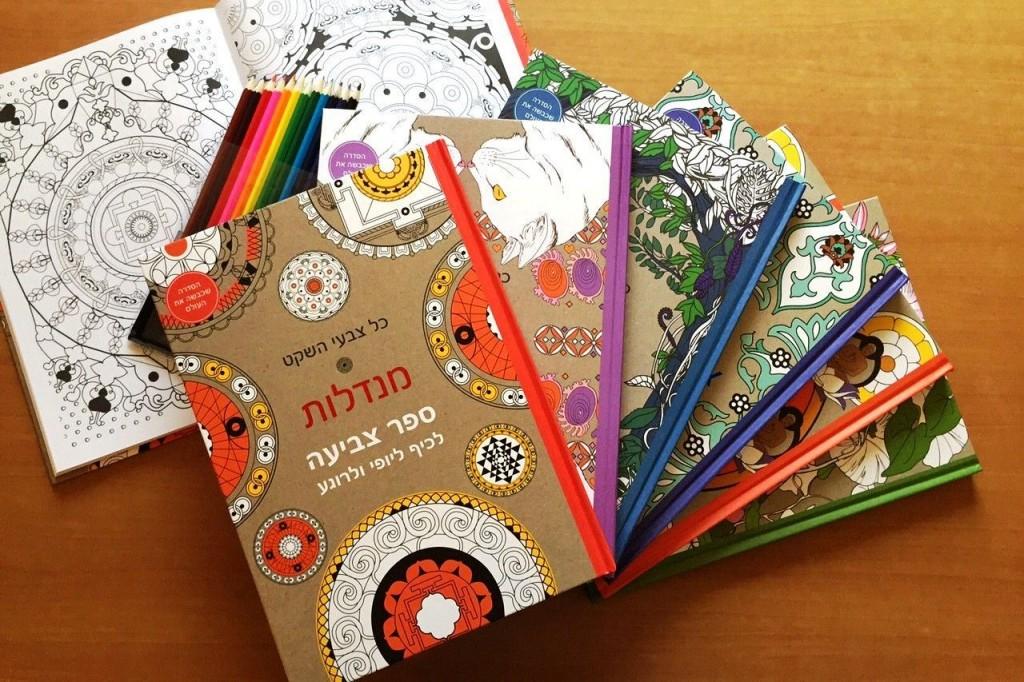 ספרי מנדלה רבי מכר ברשת צומת ספרים. צילום עידו פרץ