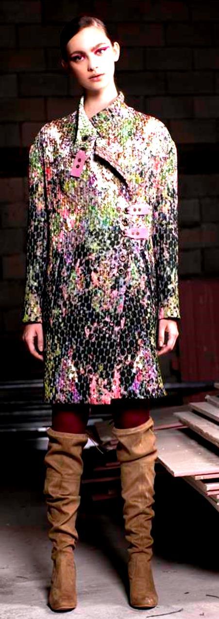 מעילים. אליאן סטולרו. צילום מרינה מוסקוביץ כריס