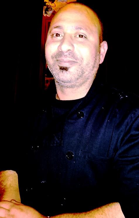 השף של רג'ינה חסן עלי. צילום: נעמי גולן