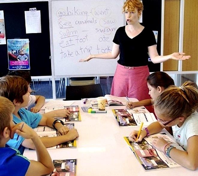 קייטנה ללימוד אנגלית וספרדית. צילום גלימפס הפקות