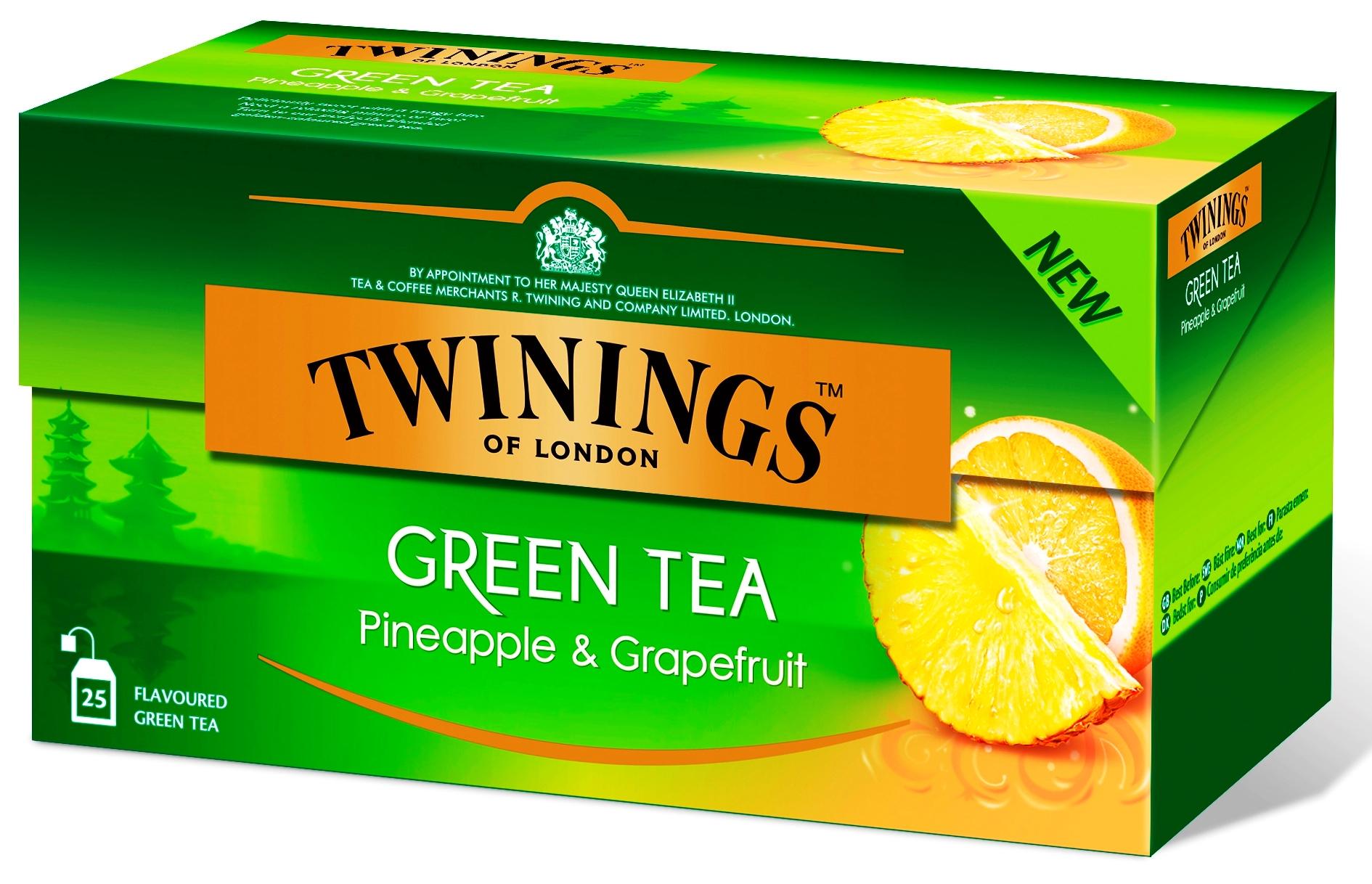"""תה ירוק עם אננס ואשכוליות בשיווק חברת """"מאכלי עולם"""""""