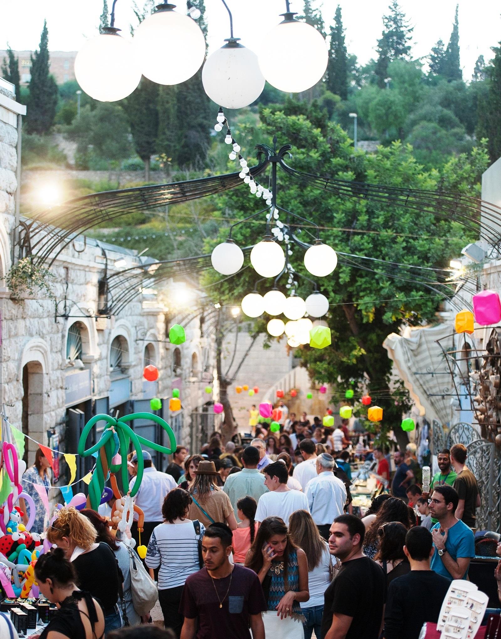 פסטיבל חוצות היוצר. צילום שמואל כהן