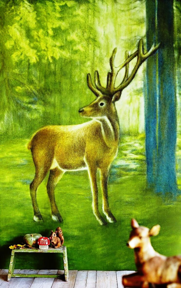 גולדשטיין גלרי טפט. קיר מעבה היער לחובבי טבע