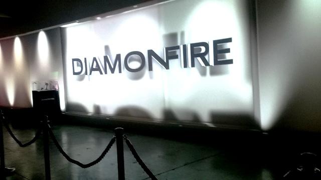 רגע מתוך השקת המותג DIAMOND FIRE במוזיאון לאמנות רמת גן
