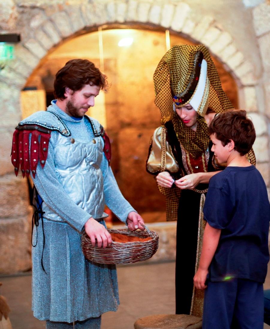 מסלול האבירים במגדל דוד צילם עידו כהן