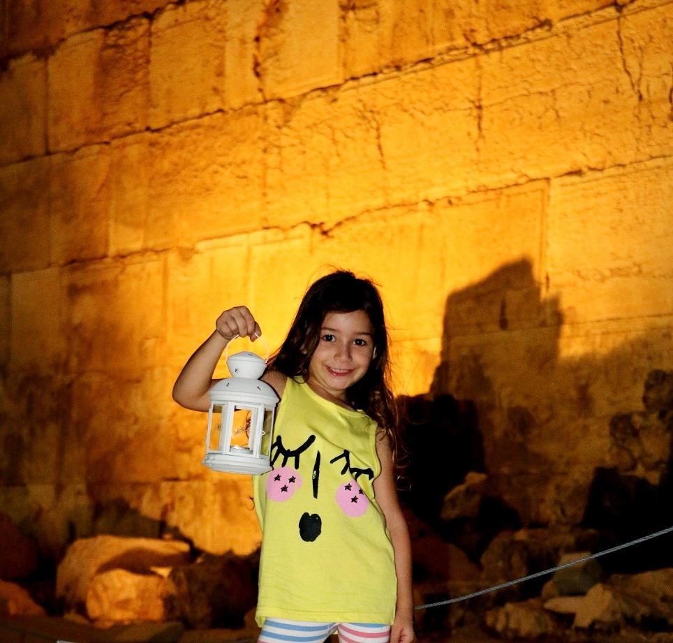 סיור עששיות על חומות העיר העתיקה