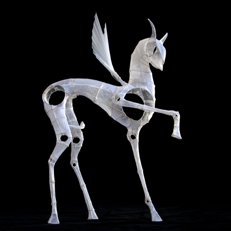 יצורים מנייר. מוזיאון יפו העתיקה