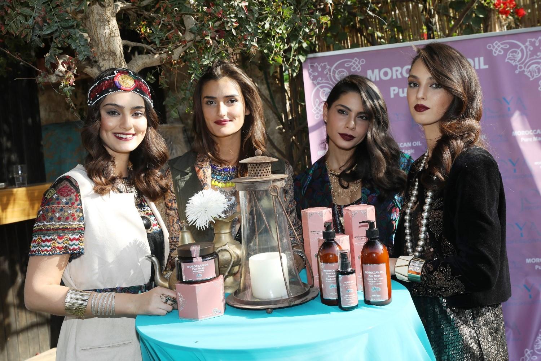 """השקה בסגנון מרוקו: """"פיור מג'יק"""",סדרת תכשירי שיער על בסיס שמן ארגן של ג'ויה עם מורוקנאויל. צילום רפי דלויה"""