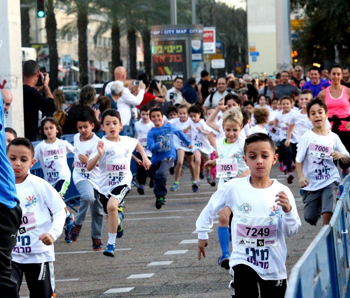מיני מרתון סמסונג במתחם שרונה בתל אביב. צילום רונן טופלברג