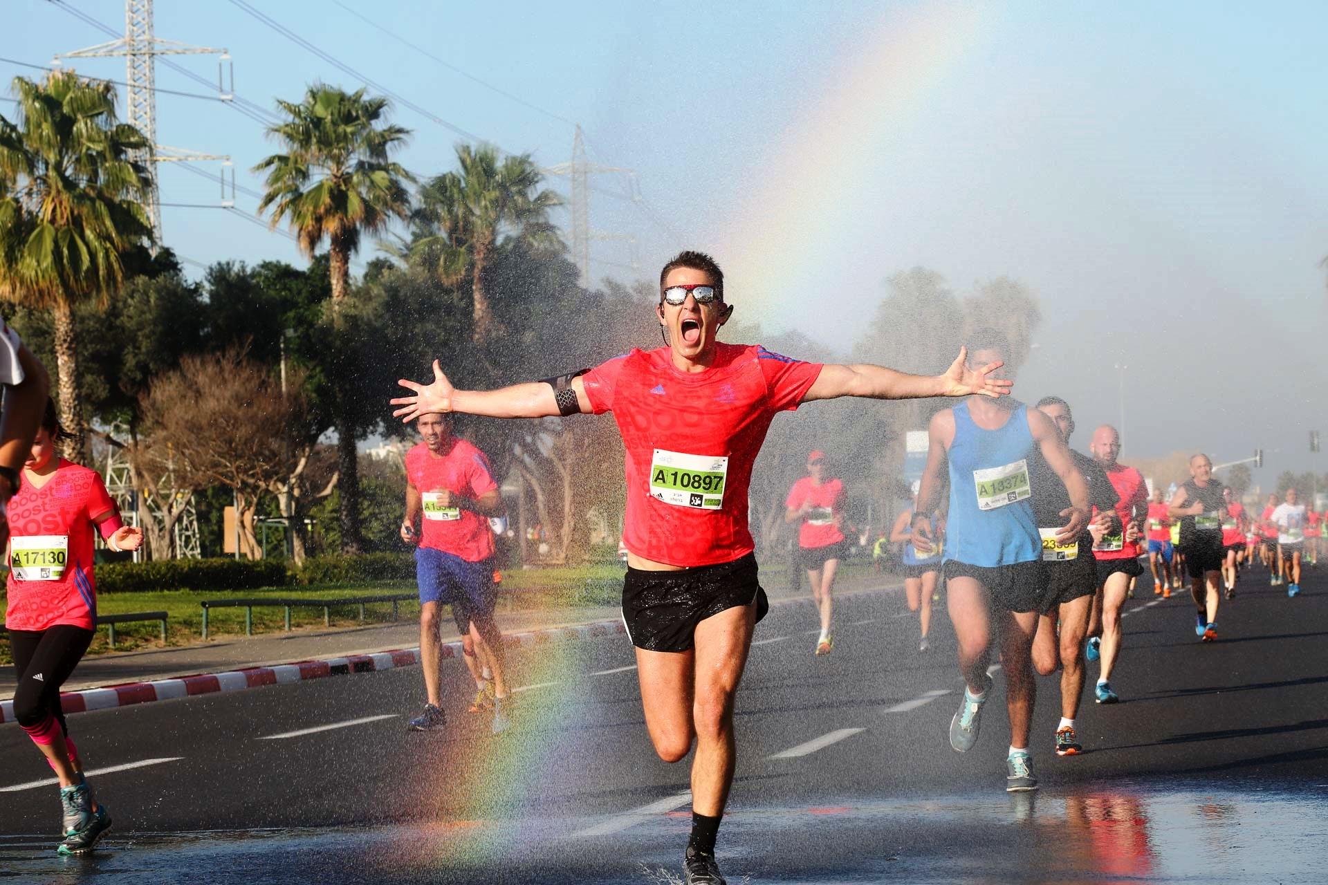 מרוץ סמסונג תל-אביב. צילום רונן טופלברג