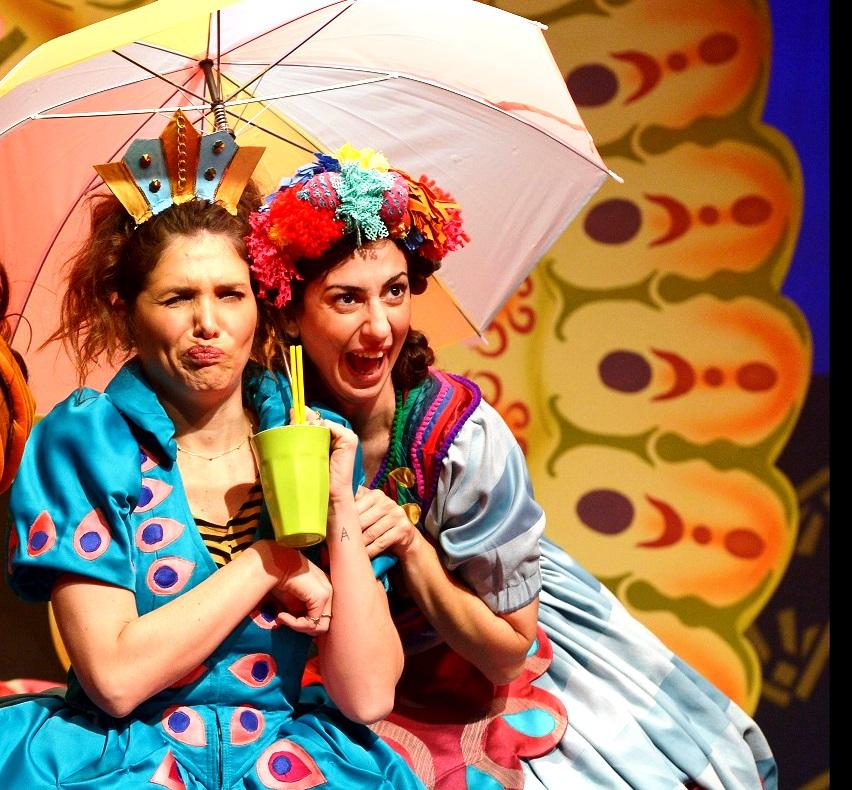 """פסטיבל ירון בתיאטרון אורנה פורת. בכורה בפורים של ההצגה """"פרצוף חמוץ"""". צילום יוסי צבקר"""