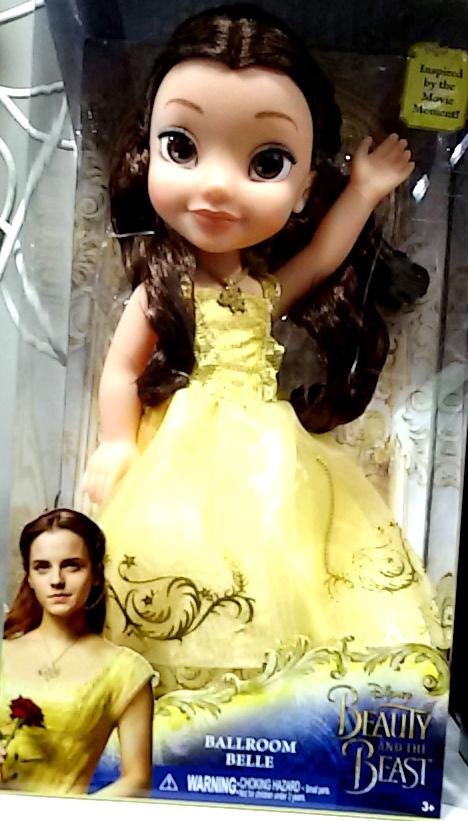 """בובות כוכבת הקולנוע אמה ווטסון בסרט """"היפה והחיה"""". גטר קונסיומר"""