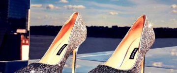 אופנה נוצצת מציפורן ועד רגל